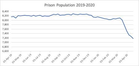 Prison pop overall